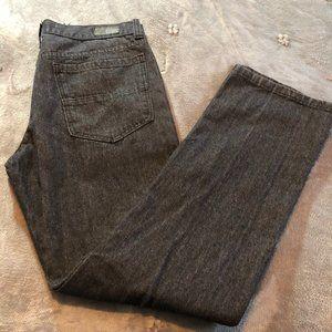 Ecko Unltd Mens 714 Straight Fit Black jeans 32. L